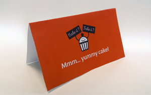 Cake Break label